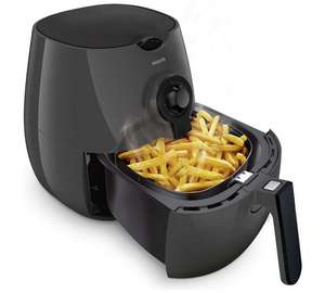 Philips Airfryer with Rapid Air Technology for Healthy Cooking, Baking and Grilling – Black – HD9216/41 £69.99 @ Argos