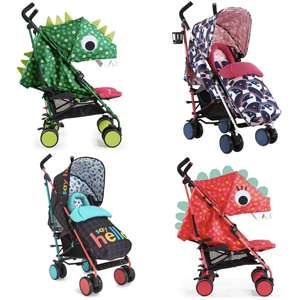 Cosatto Supa 2018 Pushchair - Various designs inc Dino / Unicorn £150.30 - £161.10 w/code @ Baby & Co
