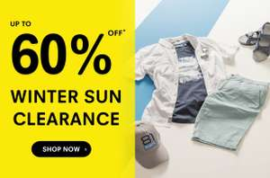 WINTER SUN CLEARANCE **UP TO 60% OFF** @ Regatta Outlet