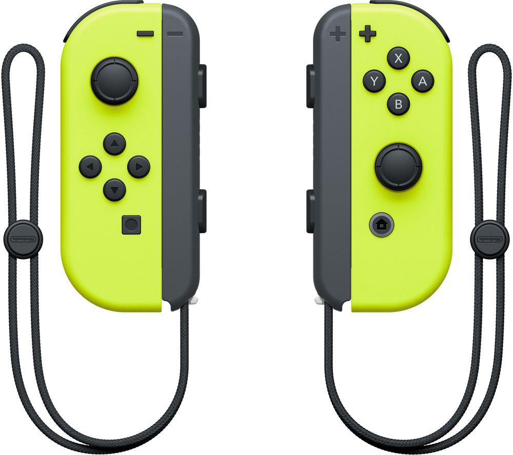 NINTENDO Switch Joy-Con Wireless Controllers - Yellow £55 @ Currys