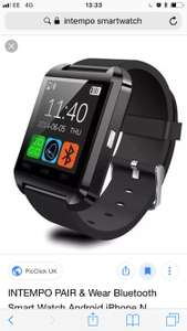 Intempo smartwatch £14.99 b&m stores