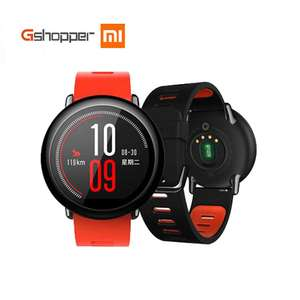 Original Xiaomi AMAZFIT Pace Huami Watch Smart Watch Sports English Version Bluetooth 4.0 Heart Rate GPS Monitor For Android IOS £77.43 @ aliexpress / Xiaomi Gshopper Store - delivered from Spain