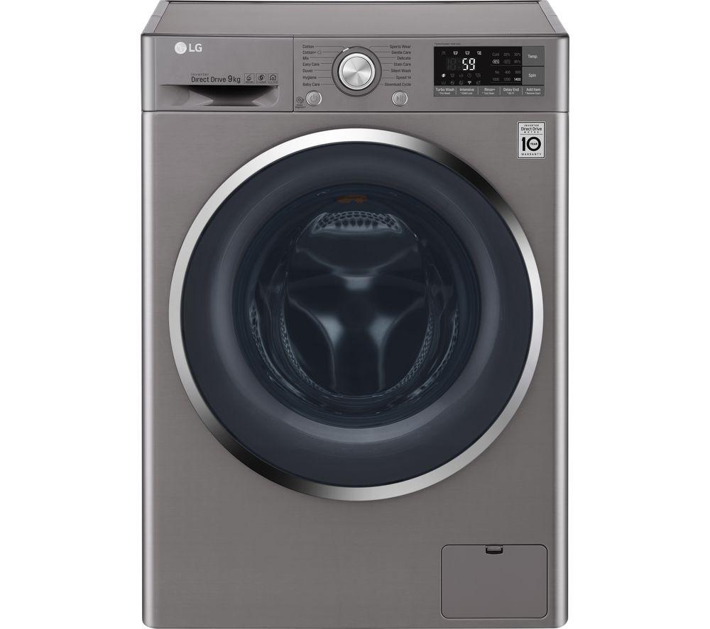 LG FH4U2VCN8 Smart 9KG 1400RPM Washing Machine - Graphite/White £386.10 w/code @ Currys / LG W5J6AM0WW Washer Dryer in White, 1400rpm 8kg/4kg Smart ThinQ £449 @ Sonic Direct (link in description)