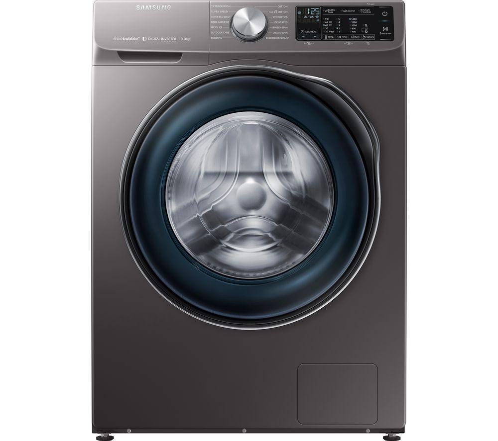 SAMSUNG WW10N645RBX/EU Ecobubble Smart 10kg 1400Spin Washing Machine - Graphite/White £404.10 w/code @ Currys