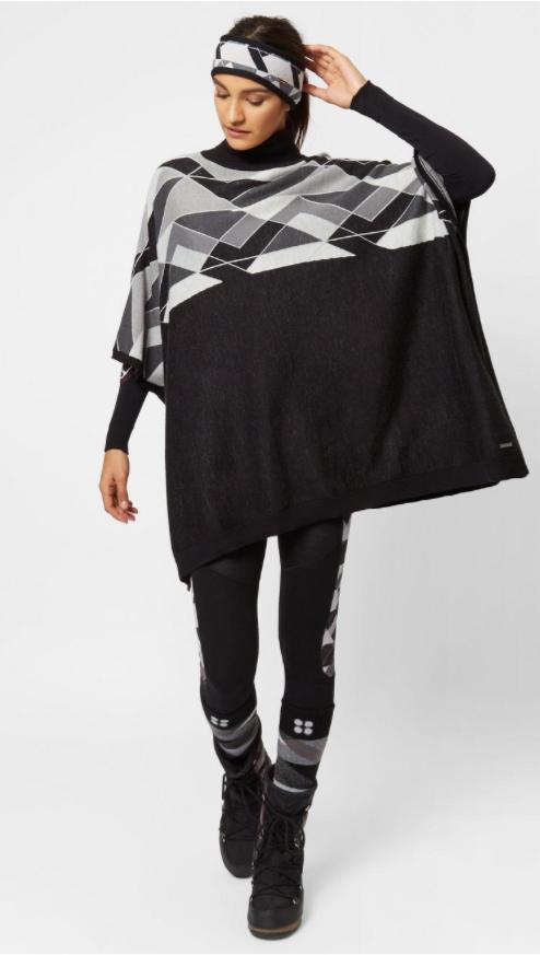Yeti Knitted Poncho From Sweaty Betty Free C&C or £4 postage @ Sweaty betty