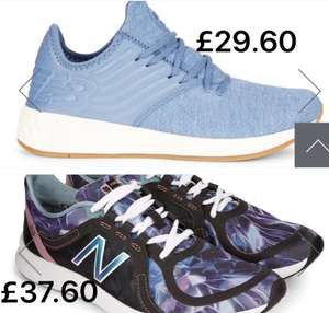 New Balance Trainers Now £29.60 Sizes 4 upto 9 in stock Free C&C or p&p £4
