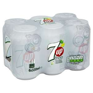 7up Diet 6 x 330ml @ Tesco - £1.59