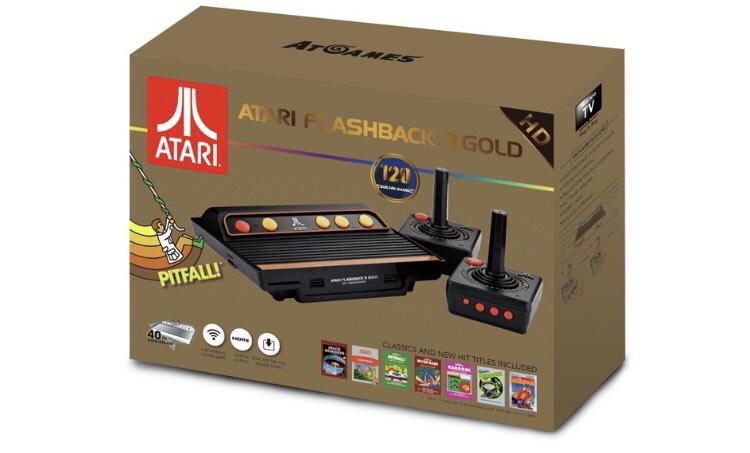 Atari Flashback 8 Gold down to £59.99 at Argos!