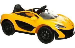 McLaren P1 Ride on Car with Remote Control £120 at Halfords