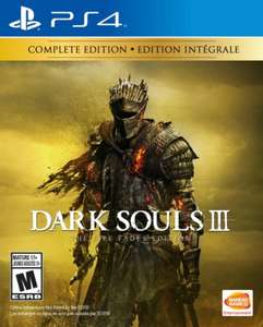 PS4 Dark Souls III: The Fire Fades OOS/ Shadow of the Colossus £12.75/Monster Hunter World £18.99 ex-rental @ Boomerang