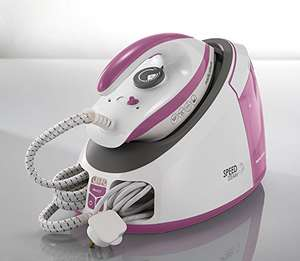Morphy Richards Speed Steam Generator Iron 333201 White / Pink Steam Gen @ Amazon £67.99