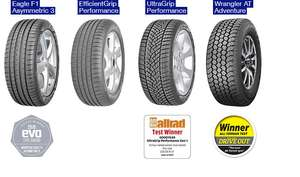 Costco - Up to £100 off Goodyear Tyres