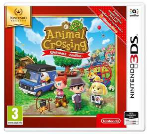 Animal crossing New leaf and Mario maker 3ds selects Argos - £13.99