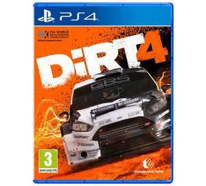 Dirt 4 [PS4] Game £14.49* (Was £19.99) @ Argos