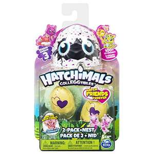 Hatchimals Colleggtibles Series 3 2 Pack & Nest - £3.63 (Add on item) @ Amazon