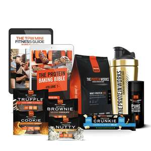 """The Protein Works """"Protein Power Pack"""" £14.99 with code DEALME"""