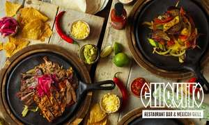 Special Deal - £22.95 for 2 Course Tex-Mex Meal for Two (54% Off) at Chiquito, plus 15% off w/code @ Groupon