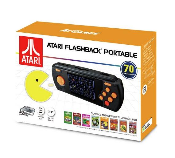 Atari Flashback Portable Games Console with 70 Games £39.99 @ Argos