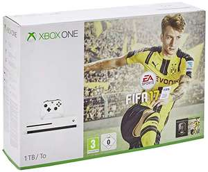 Xbox One S FIFA 17 Console Bundle (1TB) £188.20 Delivered @Amazon