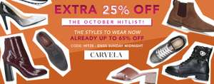 Extra 25% off Shoes & Boots with code @ Shoeaholic