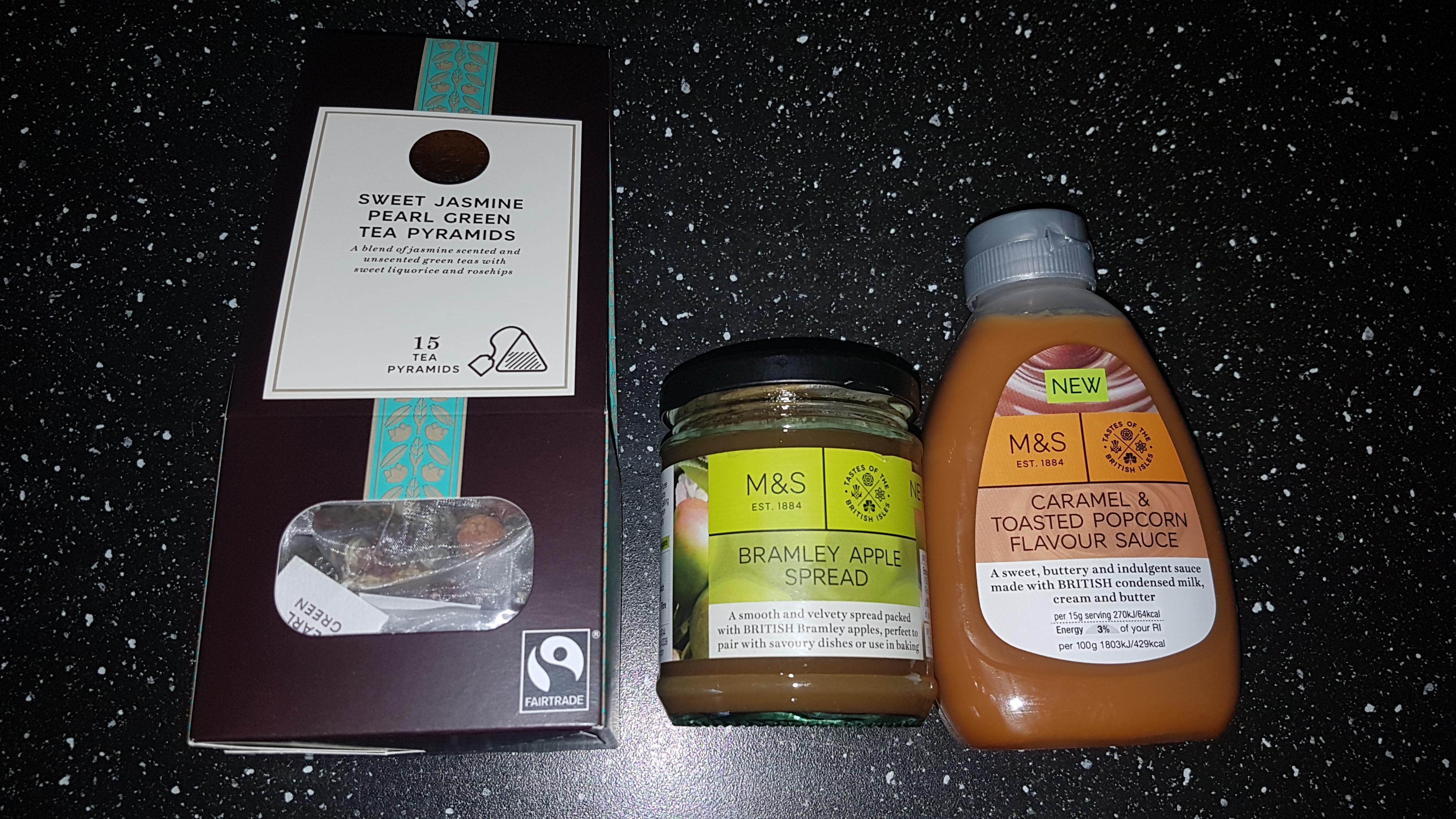 M&S Caramel and Toasted Popcorn Flavour Sauce 25p instore Stockton Heath