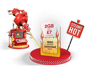 virgin sim only 30gb 16 per month 12m contract £192