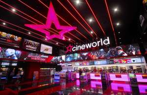 Cineworld Unlimited Cinema £17.99 + £7.98 TCB = £10.01 for a month