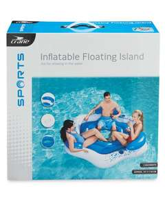 3 person inflatable floating island. £4.99 @  Aldi Whitley bay store