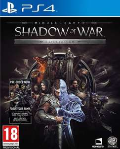 Middle-earth: Shadow of War - Silver Edition (PS4/XO) £12.95 Delivered @ TheGameCollection via eBay