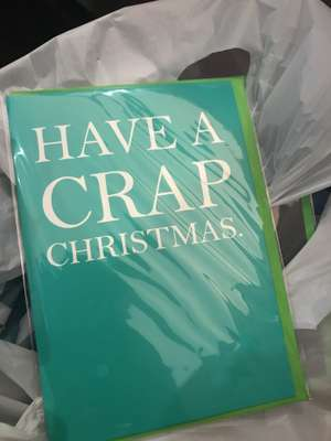 Poundland Offensive But Hilarious Christmas Mugs and Cards