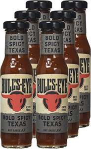 Bull's-Eye Bold Spicy Texas Sauce, 235 ml (Pack of 6) amazon add on item - £5.23