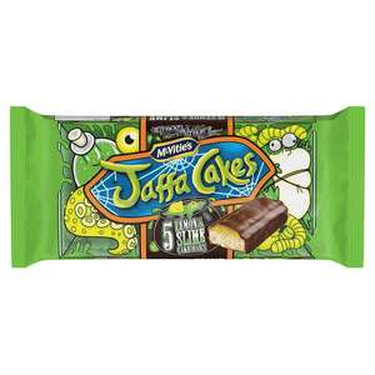 Jaffa Lemon And Slime Cake Bars 5 Pack - Tesco - £1