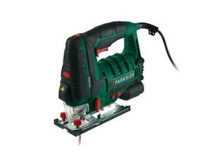 Parkside 800W Jigsaw £24.99 Lidl Sunday 14th also 5 blade sets £3.99