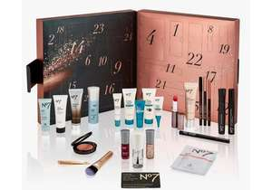 If you signed for waiting list  No7 advent calendar now on sale on 18th October @ Boots - £42 - on general sale from 19th