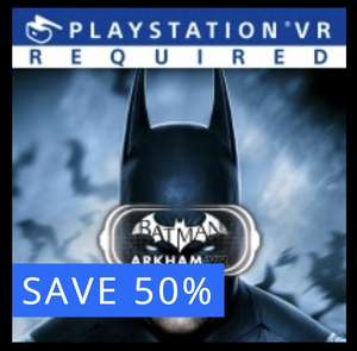 PS4 'Batman: Arkham VR'. PSVR game reduced 50% - £7.99 @ PSN