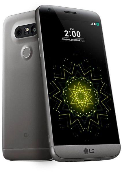 LG G5 in Titan Grey - Grade A (Pristine) Refurbished - £129.97 @ Laptops Direct