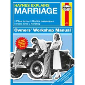 Haynes Workshop Manual - Marriage £3 C+C @ The Works (also Pensioners)