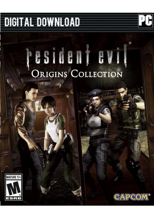 Resident Evil Origins Collection PC STEAM KEY @ CDKEYS - £5.49