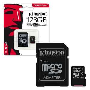 Kingston micro sd sdxc 128gb £19.99 @ 7dayshop.com
