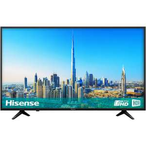"""Hisense H50A6200UK 50"""" Smart 4K Ultra HD Certified TV with HDR and Freeview Play - Black - [A Rated] (2018) - £379 @ AO"""