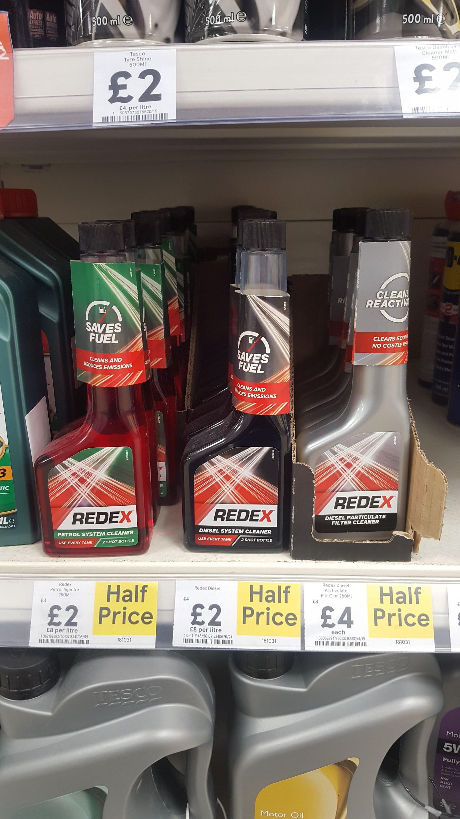 Redex DPF cleaner half price sale - £4 instore @ Tesco