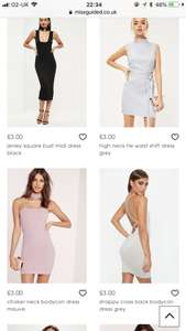 MISSGUIDED - Thousands of Items Listed for £3