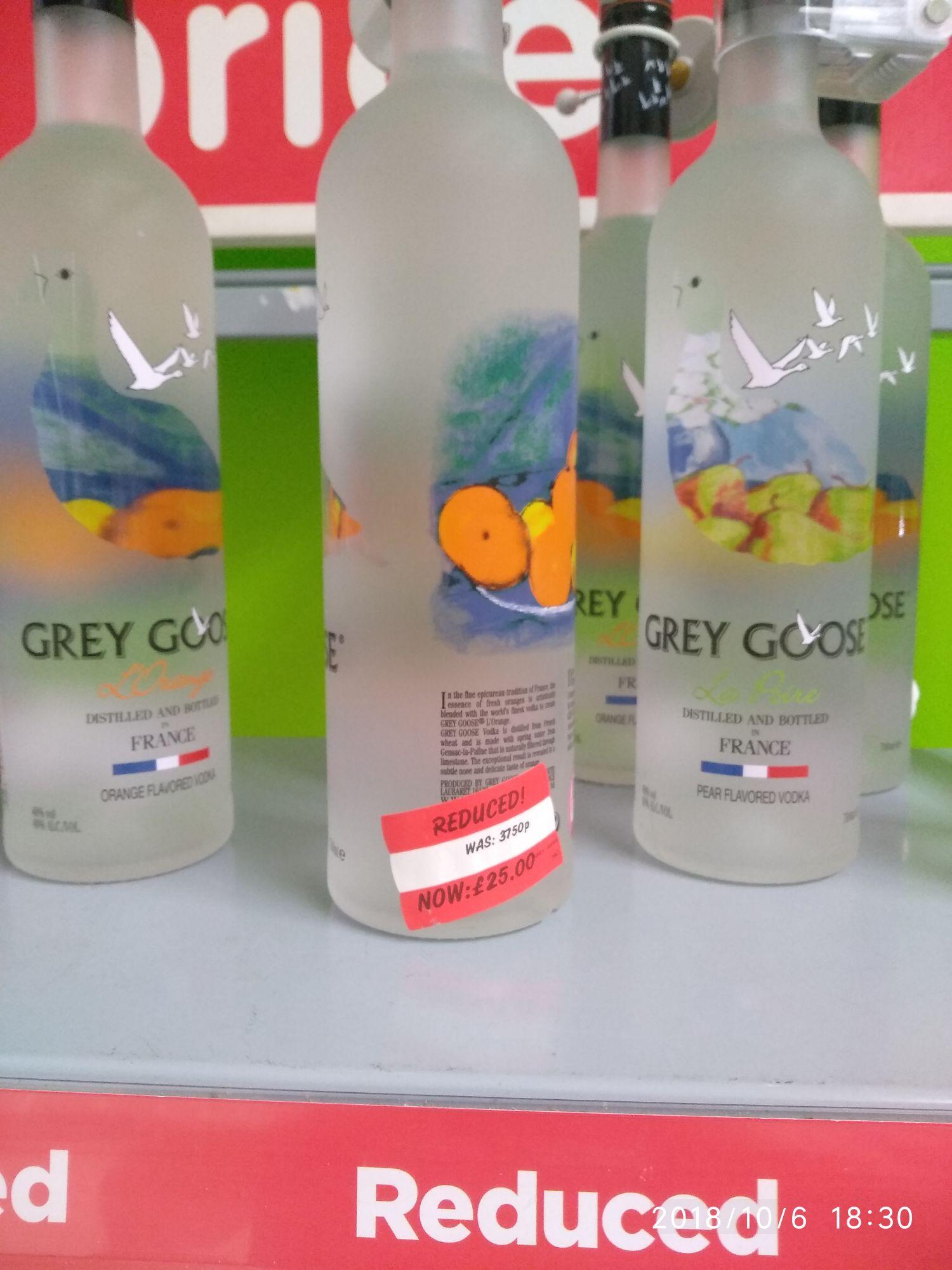 Grey Goose Orange and Pear - £25 instore @ Asda (Coryton)