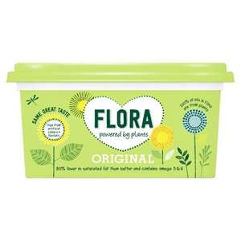 Flora Original 89p Milk £1 Sugar 50p Potatoes 69p standard price Instore Home Bargains