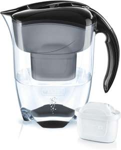 BRITA Elemaris XL Water Filter Jug and Cartridge, Black £14.99 Prime / £19.48 Non Prime @ Amazon