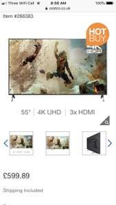 Panasonic 55FX700B 55 Inch 4K Ultra HD TV £599.89 @ Costco