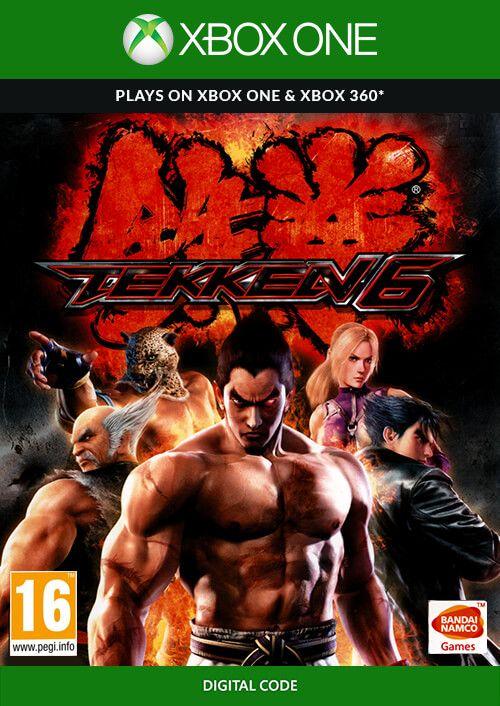 Tekken 6 XBox 360/XBox One BC £3.99 - cdkeys (possible 3% add. discount)