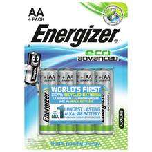 Energizer Eco Advanced AAA Batteries - Pack of 4 £1.99 @ argos