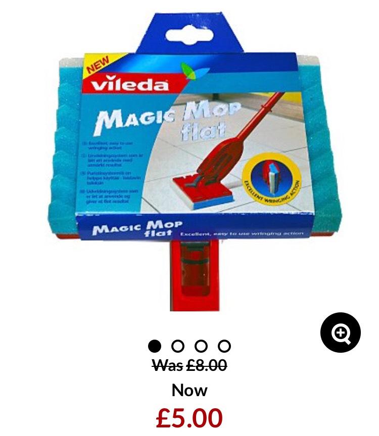 Vileda magic mop - £5 +£2.95 delivery - Asda