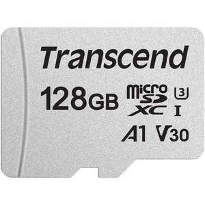 TRANSCEND 128GB Micro SDXC A1 V30 U3 Card £20.69 delivered @ Mymemory with code